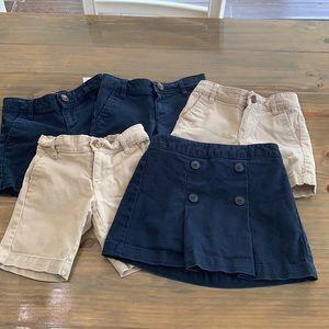 Old Navy uniform bottoms. Size 5.
